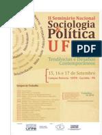 Sem Nac Sociologia & Politica Ufpr - O Caso Da Narrativa de Antonio Vieira Dos Santos Em Morretes