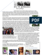 Puerta de Esperanza Info 2013
