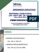 Dr. Gustavo h Cote- Procedimiento