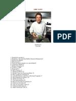 JAMIE OLIVER recipes tradução