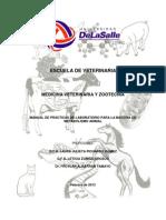Manual de Practicas de Metabolismo Animal