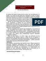 HERRERA. José Israel, Algunas características del Derecho Maya Prehispánico
