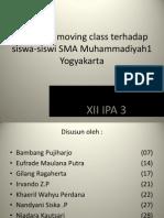 Pengaruh Moving Class