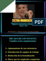Cultura en La Organizacion