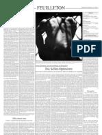Beck, Ulrich - Die Gesellschaft Des Weniger (SZ, 03.02.2005, S.15)