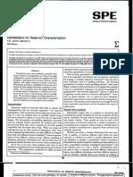 Geostatistics for Reservoir Characterization