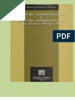 GUTIÉRREZ Y GONZÁLEZ. Ernesto, DERECHO ADMINISTRATIVO. 1a. ed. Edit. Porrúa, 1993