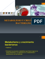 Fisiologia y Metabolismo Bacteriano