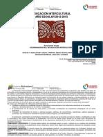 Actividades de Educac Intercultural 2012-2013 I II III 2012