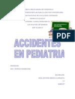 Accidentes en Pediatria Josean