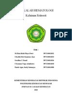 Kelainan Eritrosit(Poikilo,Aniso Dan Warna)