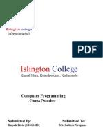 Programming Doccumentation