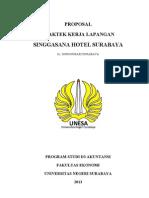 Proposal PKL Singgasana Hotel