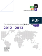 World Justice Project Rule of Law Index 2012-2013
