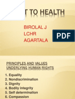 Right to Health, Krita