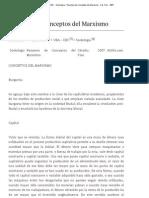UBA - CBC - Sociologia - Resumen de Conceptos Del Marxismo - Cat