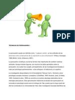 2.TÉCNICAS DE PERSUASIÓN 1