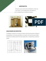 Numeracion de Los Instrumentos de Medicion Electrica