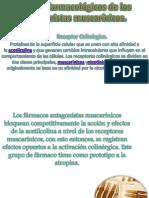 Efectos farmacológicos de los antagonistas muscarínicos
