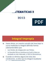 Doc 1366984716 Integrales Impropias. Probabilidad.