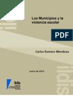 Los Municipios de Venezuela y La Violencia Escolar