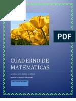 Cuaderno Se Matematicas