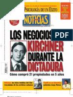 Los negocios de Kirchner durante la dictadura