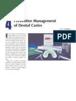 4 Preventive Management of Dental Caries
