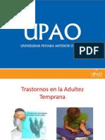 D II - CLASE 4 - Trastornos de La Adultez Temprana