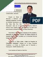 Curriculum Vitae Del Conferencista Juan Factor