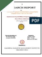 rajesh report