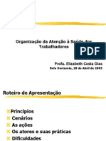 Introdução á saúde do trabalhador - Aula 3 Org. Atenção ST- PSF.ppt
