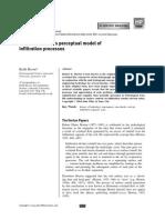 Robert E. Horton's perceptual model of infiltration processes