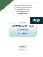 commissariat aux comptes en Algerie_ABDUU_Avril 2009
