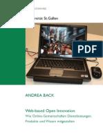 Web-Based Open Innovation - Wie Online-Gemeinschaften Dienstleistungen, Produkte und Wissen mitgestalten