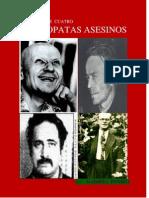 Crónica de cuatro psicópatas asesinos
