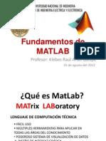 Fundamentos de Matlab Clase1