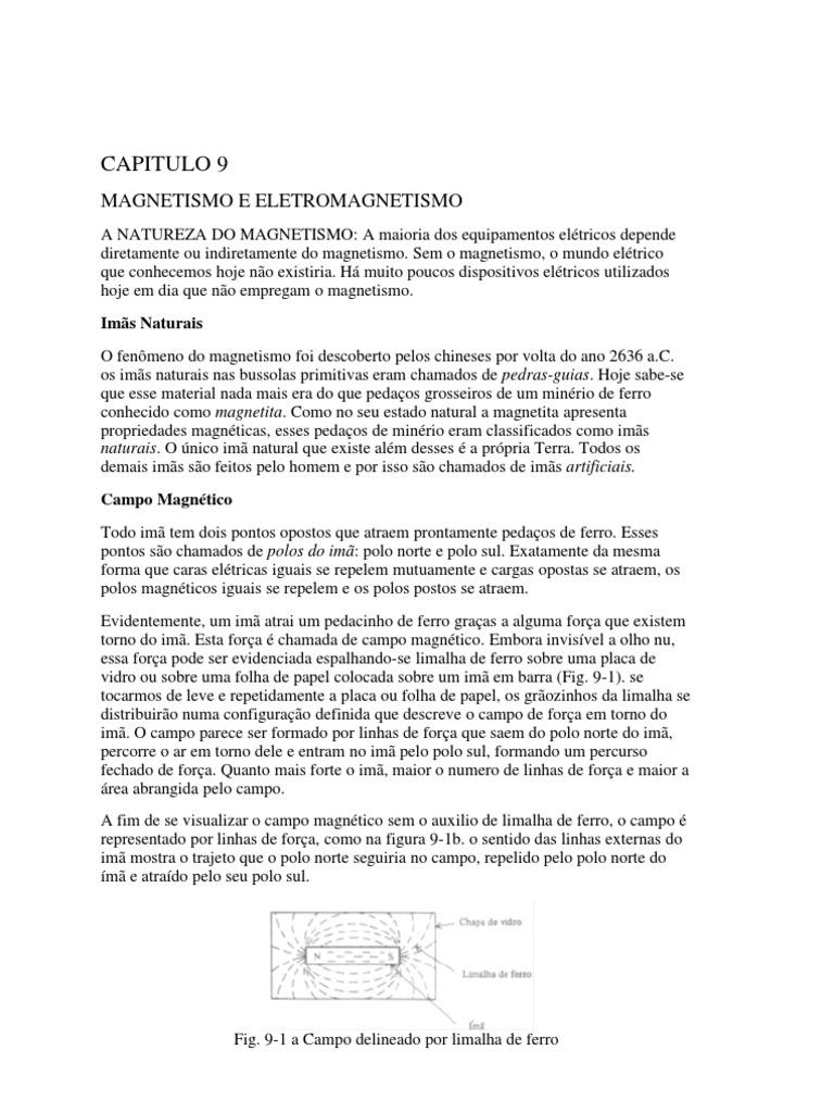 407a0bcb451 CAPITULO 9 MAGNETISMO E ELETROMAGNETISMO.pdf