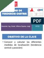 MEDIDAS DE TENDENCIA CENTRAL-SEMANA N°03