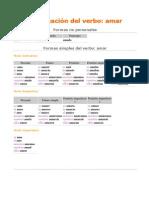 Conjugación del verbo