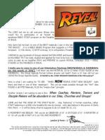 Reveal Campaign Invitation Letter