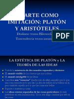 Tema II. El Arte Como Imitacion. Platon y Aristoteles