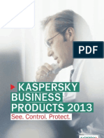 25. Kaspersky Business Products 2013