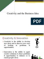 4. Creativity and the Business Idea