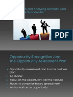 5. Identifying and Analyzing Domestic and International Opportunities