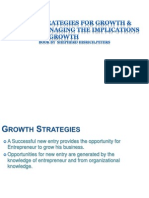 13. Strategies for Growth and Managing the Implications of Growth