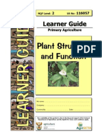 Plant Structure and Function - Learner's Guide