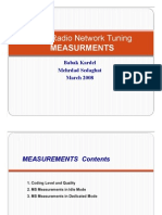 3GSM Radio Network Tuning_Measurment Report (Day3)