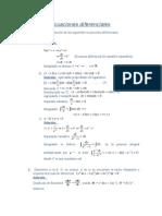 Ecuaciones diferenciales SIMULACRO