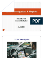 6TEMS Investigation & Mapinfo(Day6)